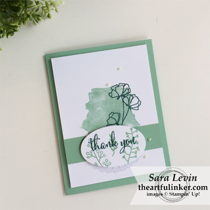 Love What You Do Thank You card from theartfulinker.com