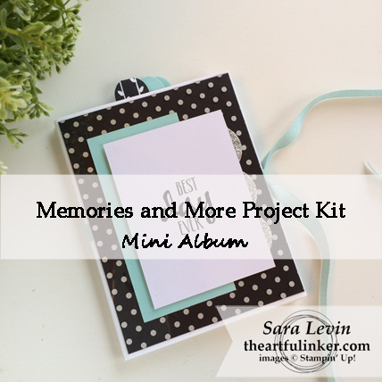 Memories and More Project Kit Mini Album