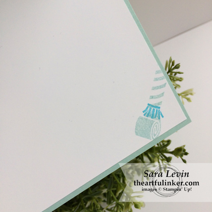 Picture Perfect Birthday Barn Door card - inside - from theartfulinker.com