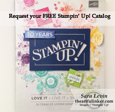 Request a Free Stampin' Up! Annual Catalog from theartfulinker.com
