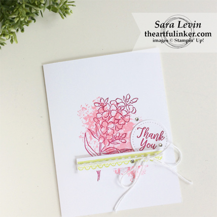 Southern Serenade Thank You in Berry Burst from theartfulinker.com