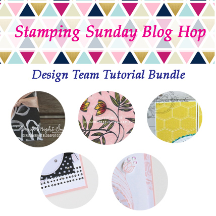 Stamping Sunday April Tutorial Bundle -- get it from theartfulinker.com