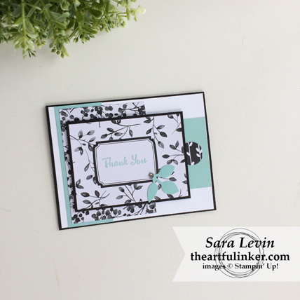 Stamping Sunday Blog Hop Memories and More Petal Passion card from theartfulinker.com