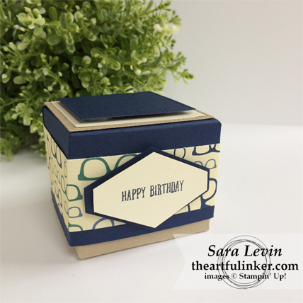 True Gentleman Birthday gift box from theartfulinker.com