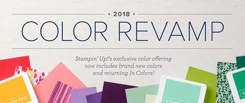 Color Revamp 2018 from theartfulinker.com