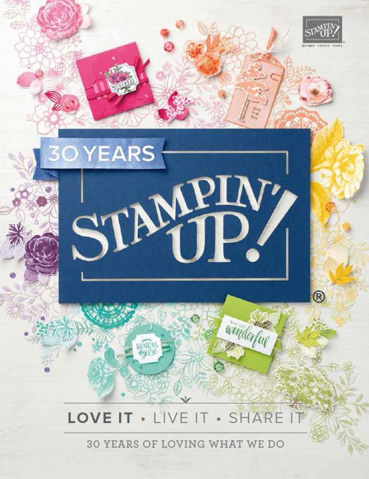 2018 Stampin' Up! Annual Catalog from theartfulinker.com
