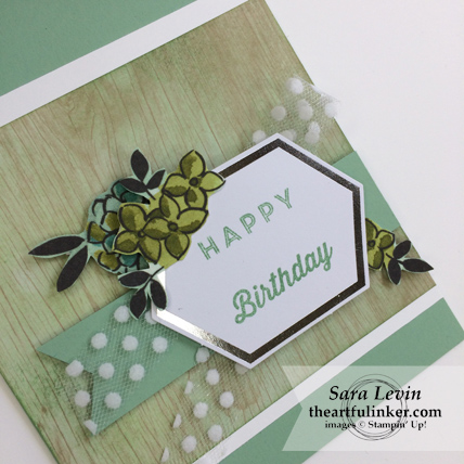 A paper Pumpkin Thing Blog Hop Manly Moments May 2018 card for her detail from theartfulinker.om