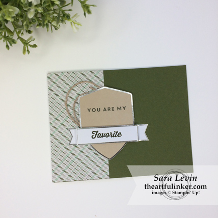 A Paper Pumpkin Thing Blog Hop Manly Moments May 2018 card for him from theartfulinker.com