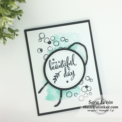 Love What You Do with Playful Backgrounds card from theartfulinker.com