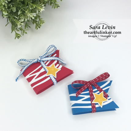 Easy Memorial Day Favors from theartfulinker.com