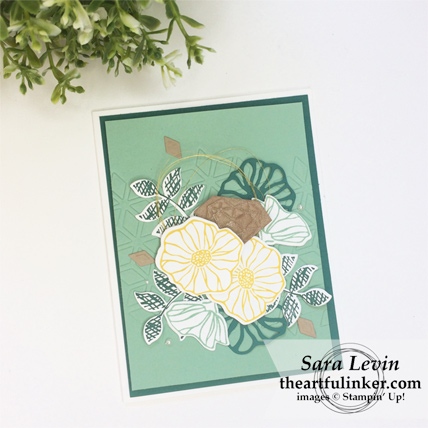 Oh So Eclectic with Embossing Mats card from theartfulinker.com #ohsoeclectic #embossingmats