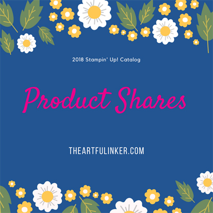 Product Shares 2018 Stampin' Up! Catalog from theartfulinker.com