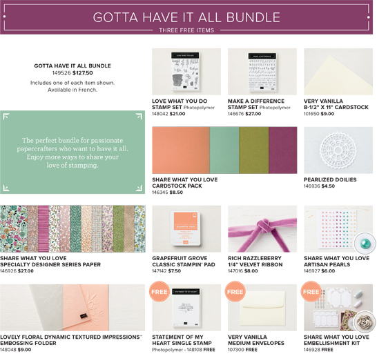 Share What You Love Early Release - Gotta Have It All Bundle - from theartfulinker.com