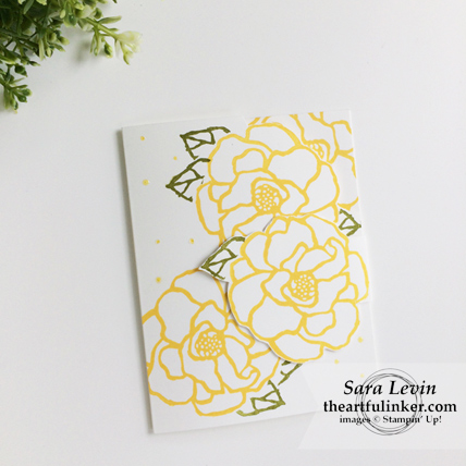 Stamping Sunday Blog Hop Beautiful Day card fancy fold from theartfulinker.com