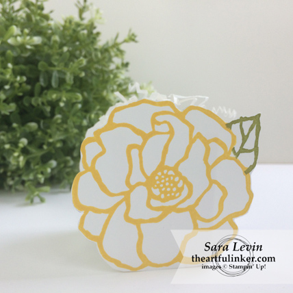 Stamping Sunday blog hop Beautiful Day favor box from theartfulinker.com