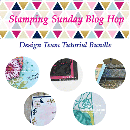 Stamping Sunday May Tutorial Bundle from theartfulinker.com