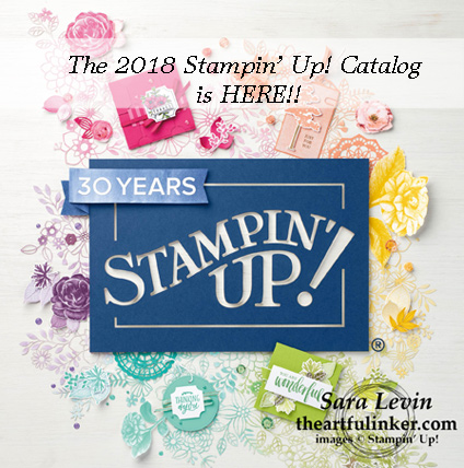 2018 Stampin' Up! Annual Catalog is HERE - see theartfulinker.com