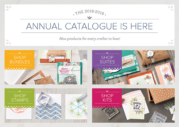 2018 Stampin' Up! New Catalog is HERE - information at theartfulinker.com