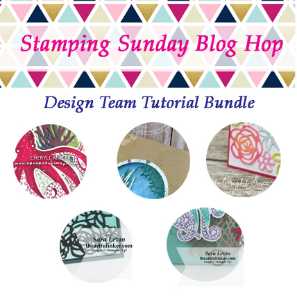 Stamping Sunday June 2018 Tutorial Bundle from theartfulinker.com