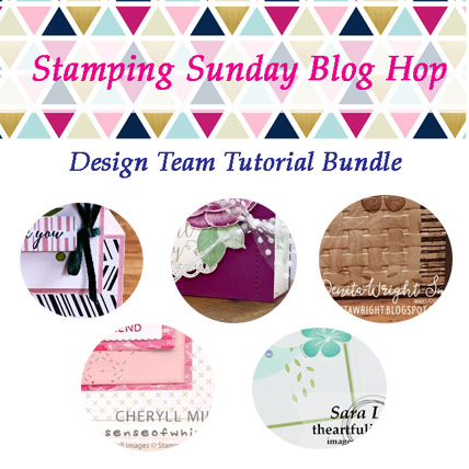 Stamping Sunday July 2018 Tutorial Bundle from theartfulinker.com