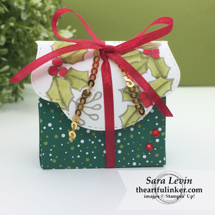 Blended Seasons Christmas Favor from theartfulinker.com