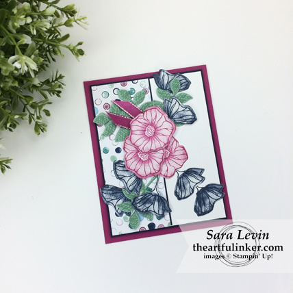 Oh So Eclectic with Tranquil Texutres card from theartfulinker.com