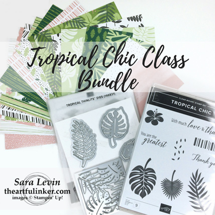 Tropical Chic Class Bundle from theartfulinker.com