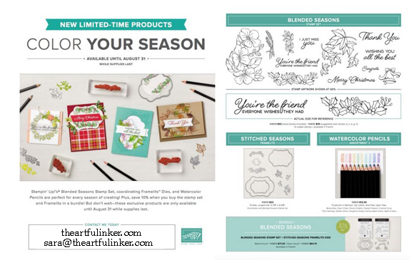 Color Your Season products available August 1 - 31 while supplies last. Shop ( https://www.stampinup.com/ecweb/default.aspx?dbwsdemoid=2059166 )