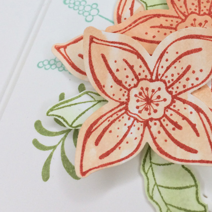 Pop of Petals with All Things Thanks card from theartfulinker.com