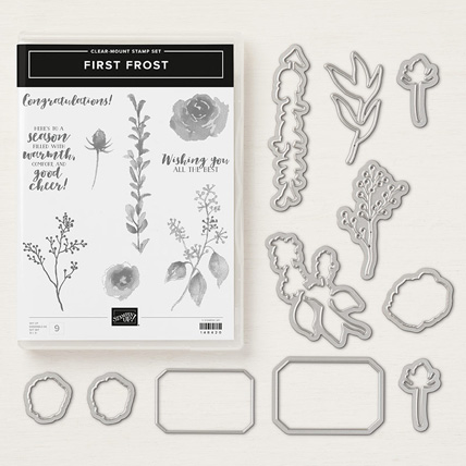 First Frost Bundle by Stampin' Up! get it from theartfulinker.com