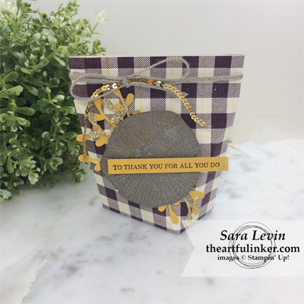 OSAT Blog Hop I Need a Hero Rooted in Nature gift pouch from theartfulinker.com