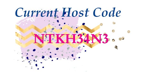 September 2018 Host Code - NTKH34N3 - for theartfulinker.com