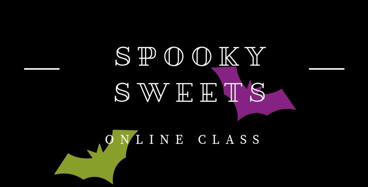 Spooky Sweets Online Class from theartfulinker.com