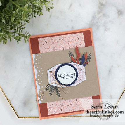 A Paper Pumpkin Thing Blog Hop Friends of a Feather alternative card from theartfulinker.com