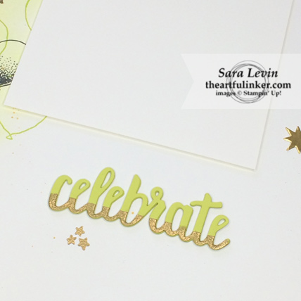 Scrapbooking Global Blog Hop October 2018 Balloon Celebrations celebrate scrapbook layout - celebrate detail - from theartfulinker.com