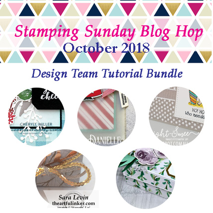 Stamping Sunday October 2018 Tutorial Bundle from theartfulinker.com