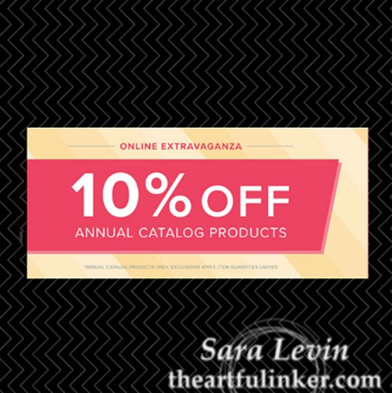 Online Extravaganza - Save 10% on almost everything - from theartfulinker.com