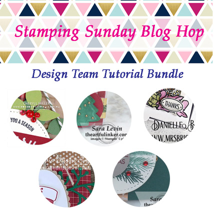 Stamping Sunday November 2018 Tutorial Bundle from theartfulinker.com