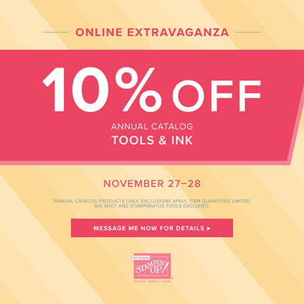 Save 10% on Almost Everything in Online Extravaganza Paper - tools and ink on sale - save on tools and ink - from theartfulinker.com