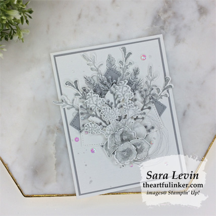 First Frost in Smoky Slate card from theartfulinker.com