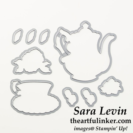 Tea Time Framelits are FREE during Sale a Bration when you make a $100 product purchase at http://bit.ly/ShopwithSara