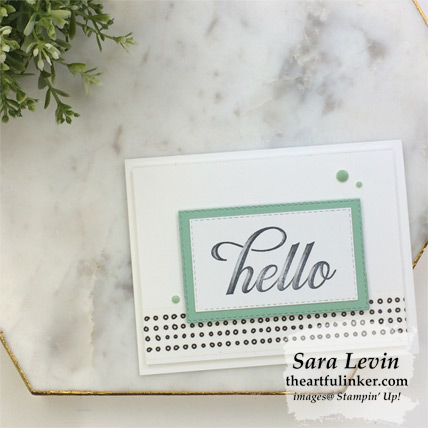 Life is Grand Clean Card Three Ways - casual stamping - from theartfulinker.com