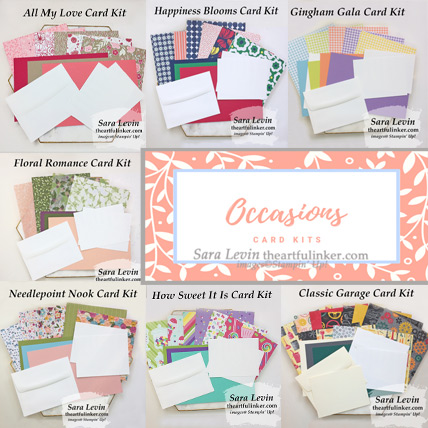 Occasions Card Kits from theartfulinker.com