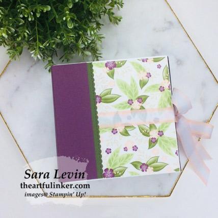 Floral Romance Mini Album from theartfulinker.com