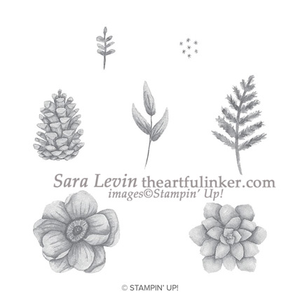Painted Seasons Stamp Set - 149722 - from theartfulinker.com