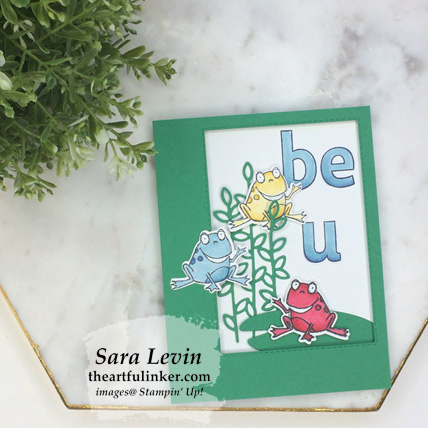 So Hoppy Together Be You card from theartfulinker.com