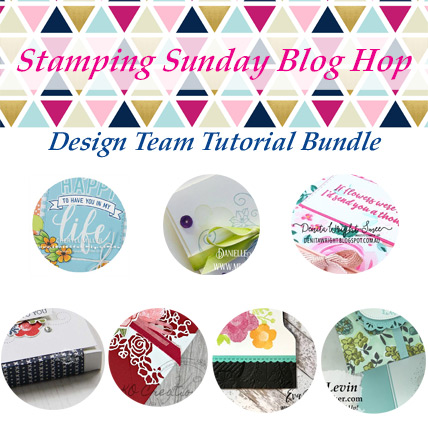 Stamping Sunday February 2019 Tutorial Bundle from theartfulinker.com