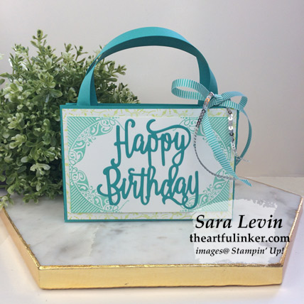 All Adorned birthday purse from theartfulinker.com