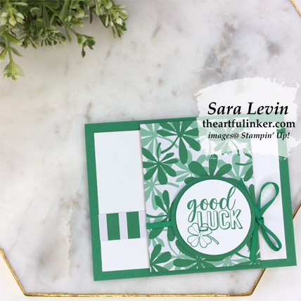 Amazing Life for St. Paddy's Day card from theartfulinker.com