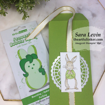 Fable Friends Gift Pouch with face mask, from theartfulinker.com